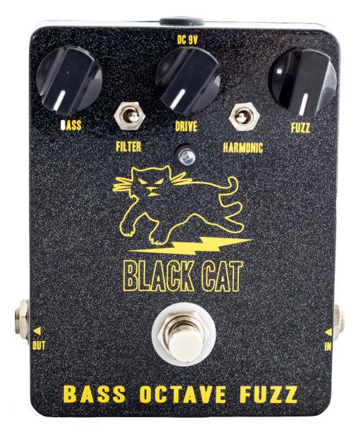 Black Cat Bass Octave Fuzz Guitar